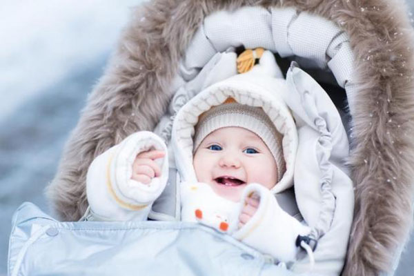Giữ ấm cho trẻ