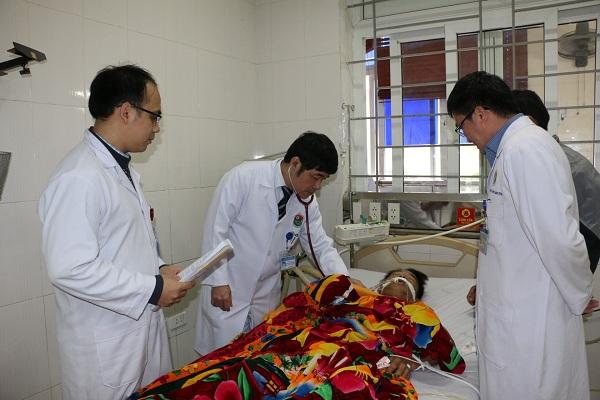 Hà Tĩnh: 6 người bị ngộ độc khí CO do đốt than sưởi ấm khi nằm ngủ