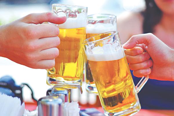 Những lá gan  nhiễm mỡ  của dân  nghiện rượu