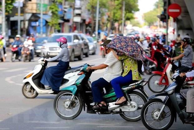 Chỉ số tia UV cực trị ở Đà Nẵng ở mức nguy cơ gây hại cao khi tiếp xúc trực tiếp với ánh nắng