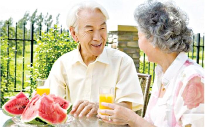 Thực đơn tăng sức đề kháng cho người cao tuổi
