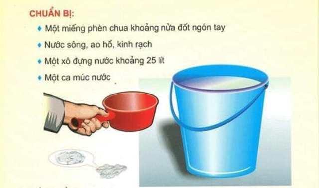 Bộ Y tế hướng dẫn cách xử lý nước sinh hoạt trong mùa mưa, bão