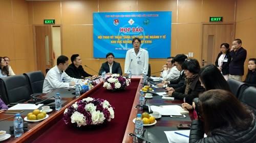 họp báo Hội thao kỹ thuật ngành y