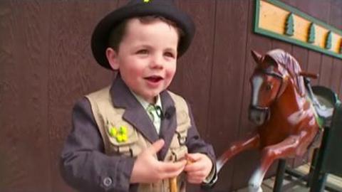 Bé 4 tuổi làm thị trưởng ở Mỹ 1