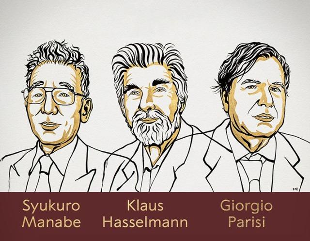 Nobel Vật lý 2021:  Những đóng góp đột phá vào sự hiểu biết của loài người về các hệ thống vật lý phức tạp - Ảnh 1.