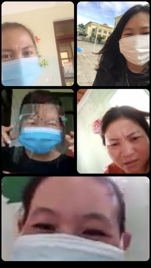 Người thân, bạn bè luôn khích lệ, động viên chị Hiếu cố gắng chiến đấu với bệnh tật (ảnh: NVCC).