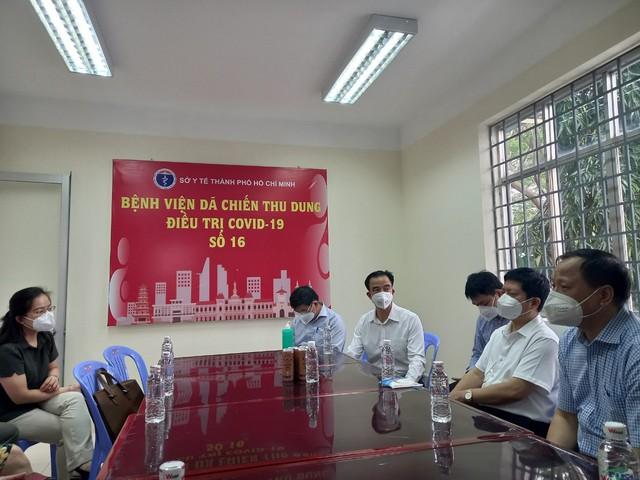 Bệnh viện Bạch Mai đảm trách chính Bệnh viện điều trị COVID-19 gần 3.000 giường ở TP.HCM - Ảnh 2.