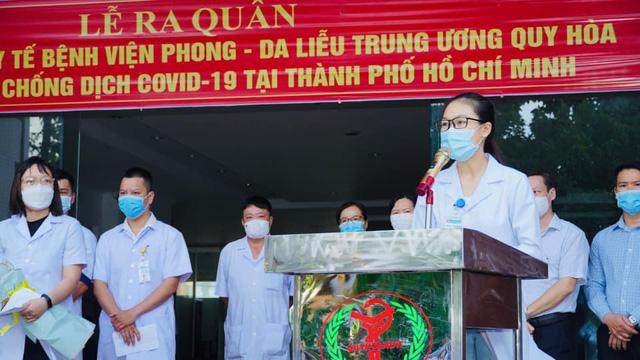 Y bác sĩ Bệnh viện Phong Da liễu TW Quy Hoà chi viện cho TP.HCM - Ảnh 1.