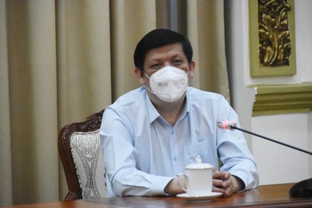 Bộ trưởng Nguyễn Thanh Long kêu gọi hệ thống y tế tư nhân của TP Hồ Chí Minh chung sức, đồng lòng chống dịch COVID-19   - Ảnh 1.