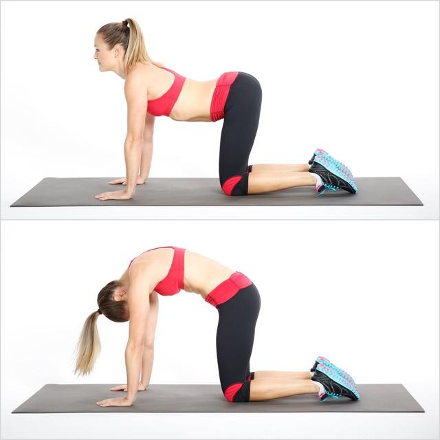8 động tác kéo giãn đơn giản giúp giảm đau thắt lưng cực hiệu quả - Ảnh 3.