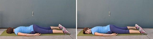 8 động tác kéo giãn đơn giản giúp giảm đau thắt lưng cực hiệu quả - Ảnh 8.