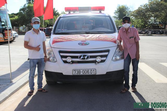 Những ngày cùng ba lái xe cứu thương vào TP. Hồ Chí Minh hỗ trợ chống dịch của Minh Trí - Ảnh 1.