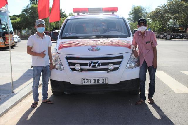 Ra Bắc rồi vào Nam chống dịch, chàng trai 9X lại cùng ba về quê nhà Quảng Bình chuyển F - Ảnh 3.