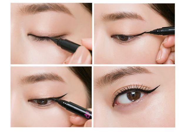 5 bước trang điểm cho đôi mắt đẹp chuẩn sao Hàn - Ảnh 4.