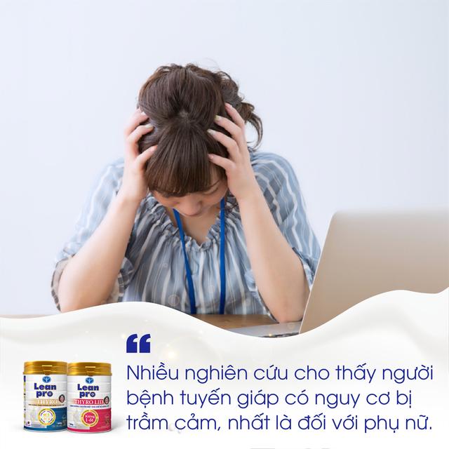 Chuyên gia nội tiết: Đừng chủ quan với sức khỏe tinh thần khi mắc bệnh tuyến giáp - Ảnh 2.