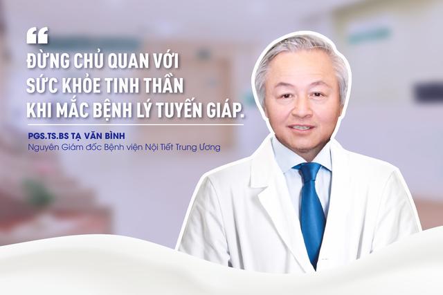 Chuyên gia nội tiết: Đừng chủ quan với sức khỏe tinh thần khi mắc bệnh tuyến giáp - Ảnh 1.