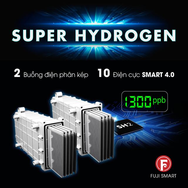 Fuji Smart i9 đón đầu công nghệ điện phân Siêu Hydro 2 buồng kép - Ảnh 3.