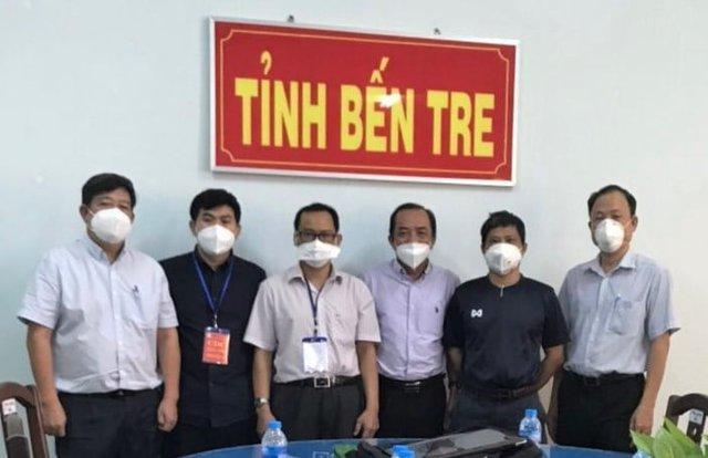 Nhóm điều trị, Tổ công tác Bộ Y tế tại Bến Tre