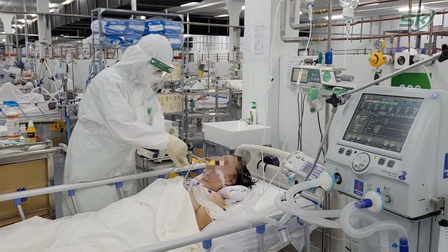 Bên trong khu điều trị hơn 300 bệnh nhân COVID-19 ở TP Hồ Chí Minh, người lo lắng tột cùng, người lại hạnh phúc đếm từng ngày khoảnh khắc được ra viện - Ảnh 5.