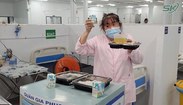 Bên trong khu điều trị hơn 300 bệnh nhân COVID-19 ở TP Hồ Chí Minh, người lo lắng tột cùng, người lại hạnh phúc đếm từng ngày khoảnh khắc được ra viện - Ảnh 14.