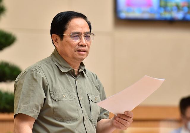 """Thủ tướng Chính phủ Phạm Minh Chính: """"Phòng dịch tốt thì không phải chống dịch"""" - Ảnh 6."""