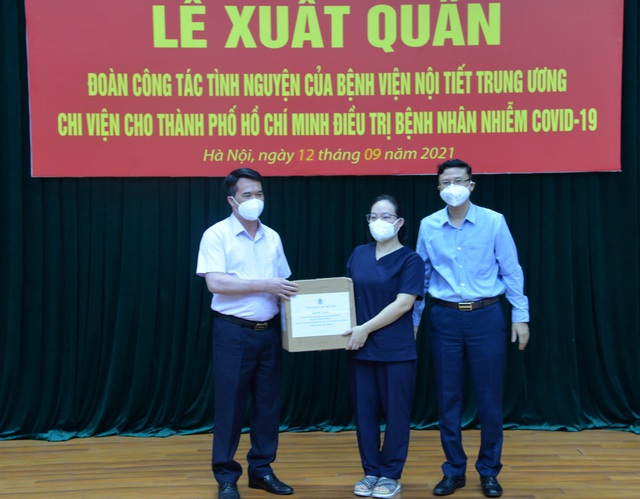 Lần thứ 3, Bệnh viện Nội tiết Trung ương cử đoàn cán bộ chống dịch chi viện cho miền Nam - Ảnh 3.