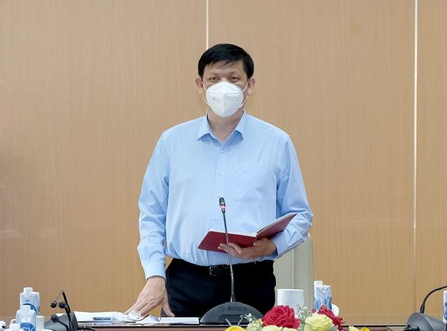 Bộ Y tế họp chuẩn bị chiến lược phòng chống dịch năm 2022   - Ảnh 1.