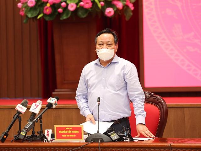 UBND TP. Hà Nội sẽ ban hành Chỉ thị mới về các biện pháp phòng, chống dịch COVID-19 - Ảnh 2.