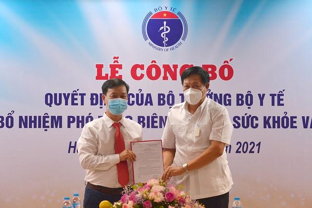 Bộ Y tế bổ nhiệm 2 Phó Tổng biên tập Báo Sức khỏe & Đời sống - Ảnh 4.