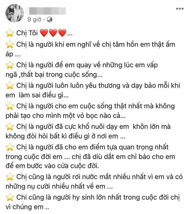 """Em trai ca sĩ Phi Nhung: """"Chị hãy mau mau tỉnh dậy, em nhớ chị lắm!"""" - Ảnh 6."""
