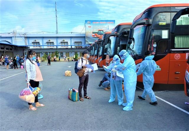 Sóc Trăng: Tổ chức đón các công dân từ TP.HCM về quê an toàn - Ảnh 2.