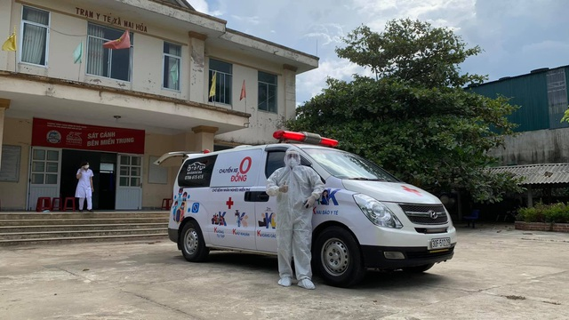 """""""Chuyến xe 0 đồng"""" tại Quảng Bình vẫn miệt mài phục vụ người bệnh và chuyển F  - Ảnh 2."""