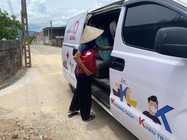 """""""Chuyến xe 0 đồng"""" tại Quảng Bình vẫn miệt mài phục vụ người bệnh và chuyển F  - Ảnh 3."""