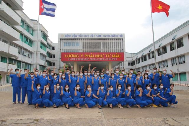 Chuỗi ngày sát cánh cùng bệnh nhân COVID-19 tại TP. Hồ Chí Minh của bác sĩ, nhân viên y tế Quảng Bình - Ảnh 2.