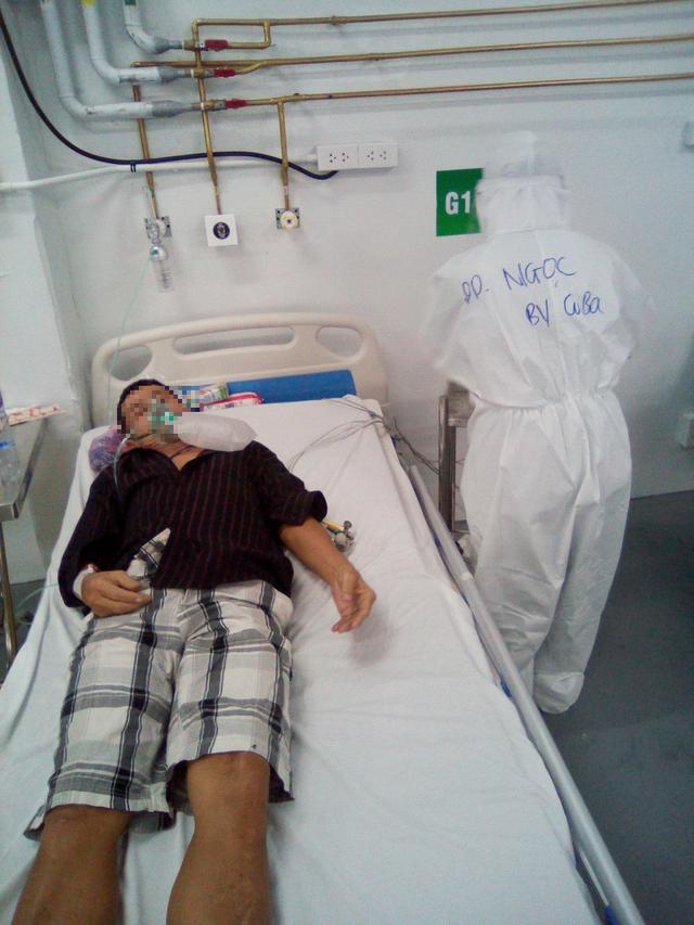 Chuỗi ngày sát cánh cùng bệnh nhân COVID-19 tại TP. Hồ Chí Minh của bác sĩ, nhân viên y tế Quảng Bình - Ảnh 4.