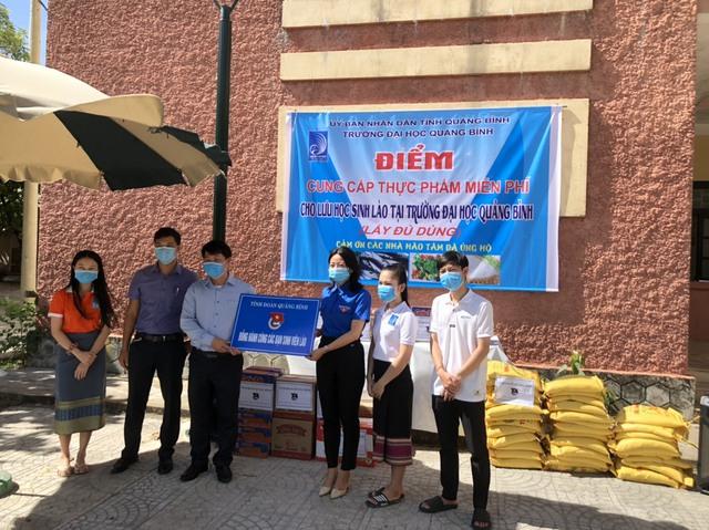 Lưu học sinh Lào sống trong sự yêu thương của nhà trường và mạnh thường quân Việt Nam trong mùa dịch - Ảnh 4.