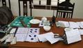 Bắt 19 đối tượng đánh bạc trong rừng keo