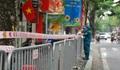 Hà Nội: Phong tỏa khu vực phát hiện ca mắc COVID-19 trên phố Trần Nhân Tông