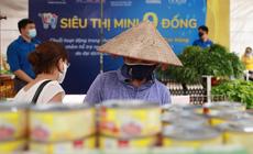 """Hà Nội mở cửa """"Siêu thị mini 0 đồng"""" giữa đại dịch"""