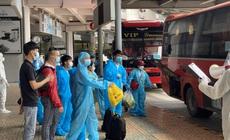 Bắc Giang tiếp tục đón gần 900 công dân 'mắc kẹt' ở miền Nam về quê