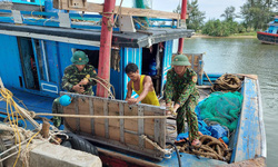 Hà Tĩnh chuẩn bị nhiều phương án chống bão Kompasu