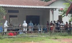 Hoàn thành nhiệm vụ hỗ trợ Lào chống dịch, đoàn công tác của tỉnh Quảng Bình về nước