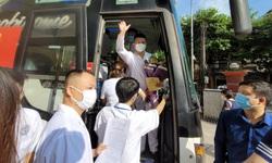 Đoàn cán bộ y tế thứ 8 của Yên Bái chi viện Đồng Nai chống dịch