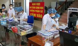 Hơn 30 ca mắc COVID-19 sau xét nghiệm sàng lọc diện rộng ở TP Vinh
