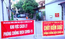 Hà Nội: 3 người cùng nhà mắc COVID-19 liên quan các ca bệnh ở phường Việt Hưng, Long Biên