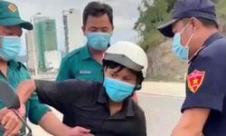 Công nhân Trần Văn Em bị lập biên bản vì ra đường không lý do chính đáng