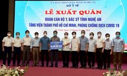 Nghệ An tiếp tục cử 50 thầy thuốc vào TP. Hồ Chí Minh chống dịch