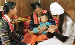 Thúc đẩy việc sinh con an toàn trong cộng đồng dân tộc thiểu số