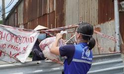 TP.HCM 'tăng tốc' hỗ trợ đợt 3 bằng tiền cho người khó khăn