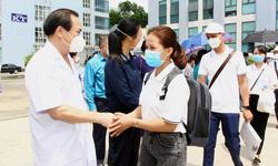 BV Trung ương Thái Nguyên cử cán bộ luân phiên vào T.P Hồ Chí Minh hỗ trợ chống dịch